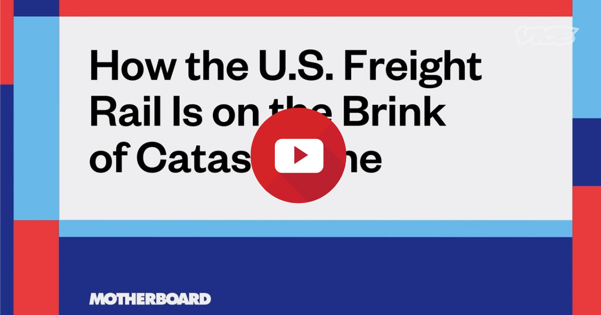 VIDEO: Freight trains in the U.S. are a disaster waiting to happen
